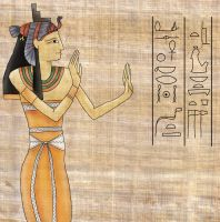 Egyptian Art - Colour by Sheppard56