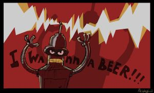 ANGRY BENDER by Fr-13