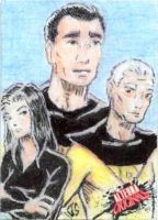 Alterna Originals Sketch Cards: Deadbeat by JasonShoemaker