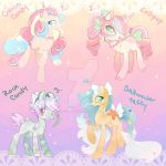Candy Pony Collab Adopts Some lowered prices by ParfaitPichu