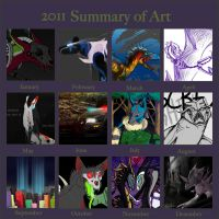2011 Art Summary by katxicon