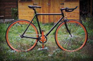 Fixed Gear -My Fixie- by k-simir