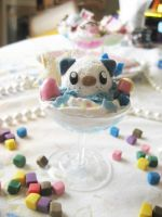 Oshawott Pokemon Deco Parfait by KeoDear