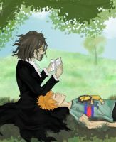 Bleach :: Those moments... by Chenille-Cerise