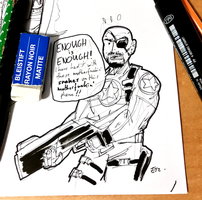 DSC 2015-09-03 Nick Fury Jr. by theEyZmaster