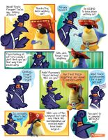 Pirate Penguin Fluffy Fracas 1 by raisegrate