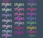 Styles for Colours by HypnoticSpells