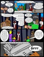 Comic commission: Chow Hound The Untold Story 2 by CaseyLJones