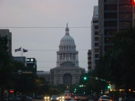 Austin downtown by MAnimeX