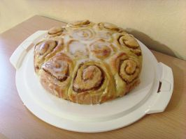 Cinamon Roll Cake by dabbisch
