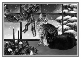Christmas Card by MightySquirrel