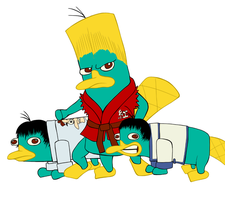 Paul and Laws are Platypus by HaijinNell