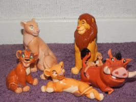 Lion King Simba's Pride Ceramics by LittleRolox3