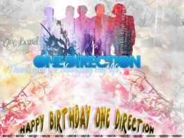 One Direction Anniversary Pack by H-a-n-n-a