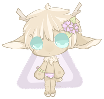 CLOSED Auction - Deer Baby 1 by Hina-Mi
