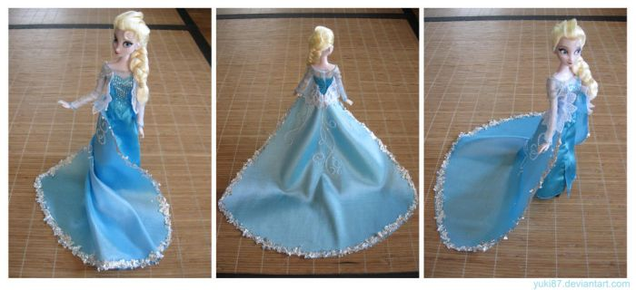 Gift: OOAK Singing Elsa by Yuki87