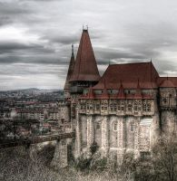 Corvin Castle by sadmoon666