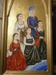 Ducal Triptych - Left Panel by Merwenna