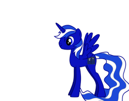 TARDIS pony by base-code