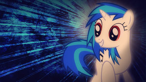 Vinyl scratch cool as ever by alca7raz