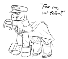 Pony Commissar by Fighting-Wolf-Fist