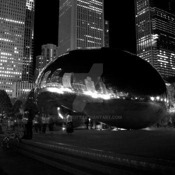 The Bean, Chicago by EdPettitt