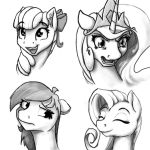 Sketch 4-24 Facial Expressions 2 by Geomancing