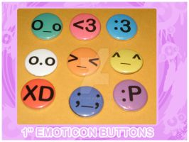 Emoticon Buttons by quazo