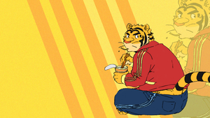Ramen Tiger by FlamingBravery