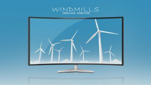 Windmills Pack | Wallpaper by abdelrahman