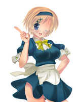 APH: Ukraine Maid by AvatarNaruto