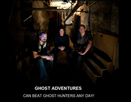 Ghost Adventures vs. Hunters by Bookmachta