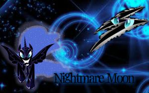 Nightmare Moon by kayleyster