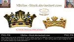 Golden Crowns by YBsilon-Stock