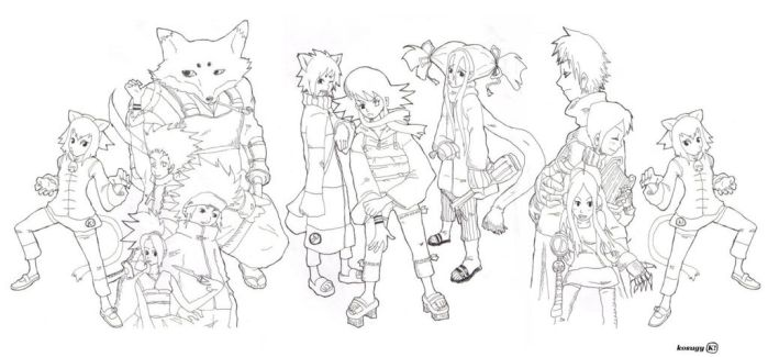 # (909)oc characters by Kosugy