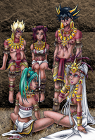 Tribal Signers by RyouGirl