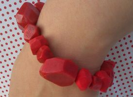 Red Rockette Bracelet by Gynecology