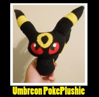Umbreon Chibi PokePlushie by PakajunaTufty