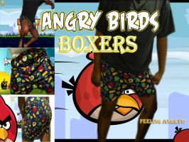 Angry Birds Boxers by kuroiStar