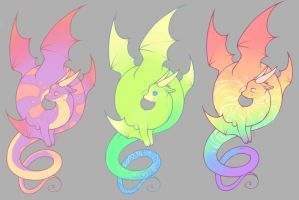 FREE ADOPTS - CLOSED by Emmigator