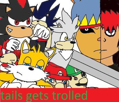 tails gets trolled cover by lazerbot