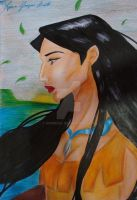 Pocahontas - Finished by SophiaGL