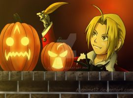 Halloween Edward by AJanime12
