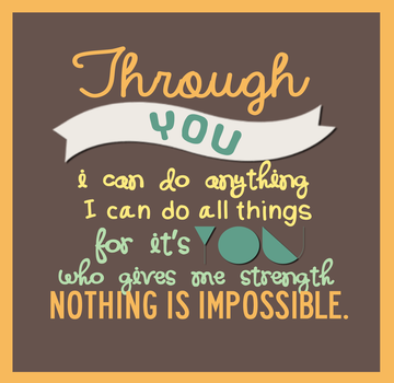 Nothing Is Impossible by kristine14