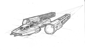 Y Wing Fighter-Recon Fighter by brothersdude