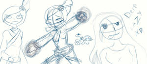 My Sketches 3 Maybe I don't remember XD by anthirules