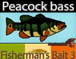 Peacock Bass from Big Ol' Bass fisherman's Bait 3 by BenioxoXox