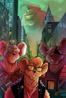 Biker Mice tribute by Prenzyy