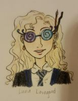 Luna Lovegood by Breeheehee