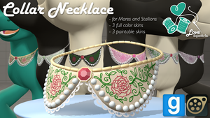 [DL] LE Collar Necklace by love-mist